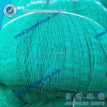 Colorful twine gill net, net fishing, plastic net