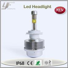 12V 24V 40W 4800lm h7 led car headlight kit, led car headlight, projector beam headlight low beam