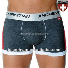 boxer for men can be customized logo and fabric cotton factory made boxers for man