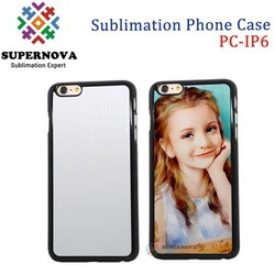 Alibaba China 2D Blank Sublimation Plastic Cover for iPhone 6, 4.7inch