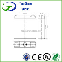 2V 50Ah Sealed Lead Acid Solar Wind Power Storage Batteries Battery
