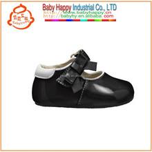 Silk Bow Baby Ribbon Shoes