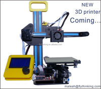 alibaba China 3d printer machine pla rubber wood filament printing for school home
