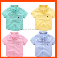 Long sleeve t shirt for boy and man with yard dyed color
