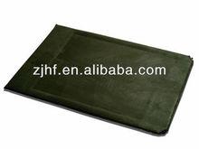 inflatable flocked foam sleeping mat