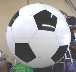Giant soccer ball design helium balloon, inflatable floating advertising helium balloon K7024
