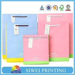2015 wholesale decorative cardboard newest block bottom brown kraft paper bags