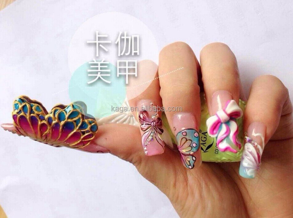 Kaga 3d Gel Nails Designs Of Nails Nc29 - Buy 3d Gel Nails,Designs ...