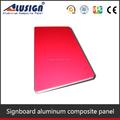 Alusig sighboard acp carta de colores