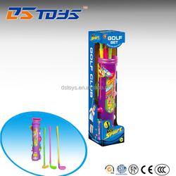 Hot sale plastic toy golf set golf ball toy