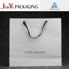 New products high end logo printed hand make costomized branded retail decorative bags