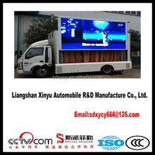 Programmable LED Display Outdoor Mobile Truck for sale