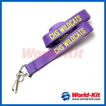 High Quality Custom Printed Polyester Lanyards with Metal J-Hook