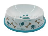 pet ceramic bowl