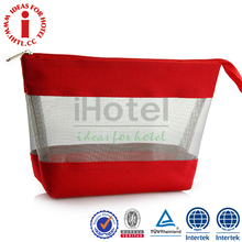 Promotional Fashion Beautiful PVC Mini Clear Plastic Cosmetic Bags