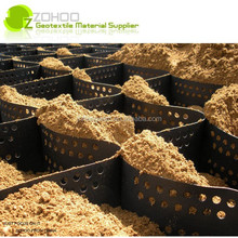 ZOHOO HDPE Geocell for the governance of shallow water channel