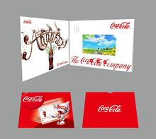 "Brand Name Companies Hot Advertising Brochure LCD 5"" Video Brochure"