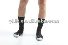 men merino wool compression sporty socks for hiking