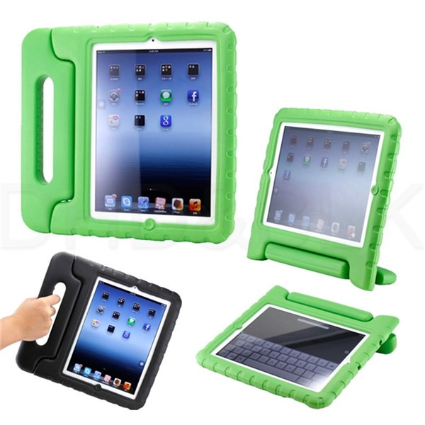 rugged frame surface kids tablet case with handle carrying for ipad 2.3.4 mini