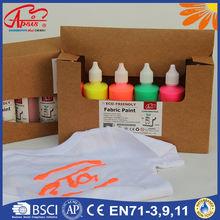 different colors factory wholesale fabric paint