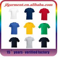 2015 fashion design screen printing 100 cotton t shirts 1 euro