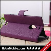Smart Holder Stand Cover For Nokia Lumia 1520 Leather Holster Cover Case