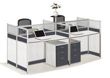 office furniture modular workstation computer desk with drawer, call center workstation