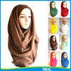 sexy women plain viscose hijab