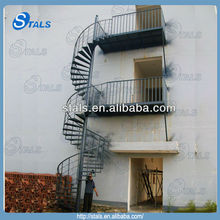 cast iron spiral staircase residential stairs round/straight/single stringer stairs