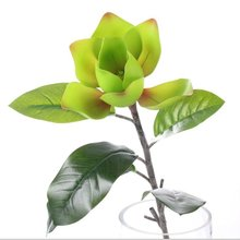 2012 new design Artificial beautiful hot sell artificial PU single Mognolia Yulan flower