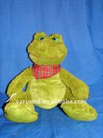 Cuddly frog toy