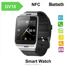 2015 New Smartwatch gv18 Bluetooth Smart watch for Apple iPhone & Samsung Android Phone smartphone watch