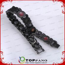 magnetic ion energy balance metal bracelet
