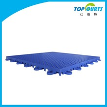 not break or damage tennis court interlocking pp flooring mat