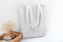 Small white flower cotton canvas handbags wholesale shoulder bag supply of students hot models