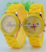 fashion silicone rubber wrist, gift watch,silicone watch
