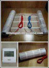 Termostato para calefacción aprobado por CE, alfombrilla de calefacción de piso eléctrica