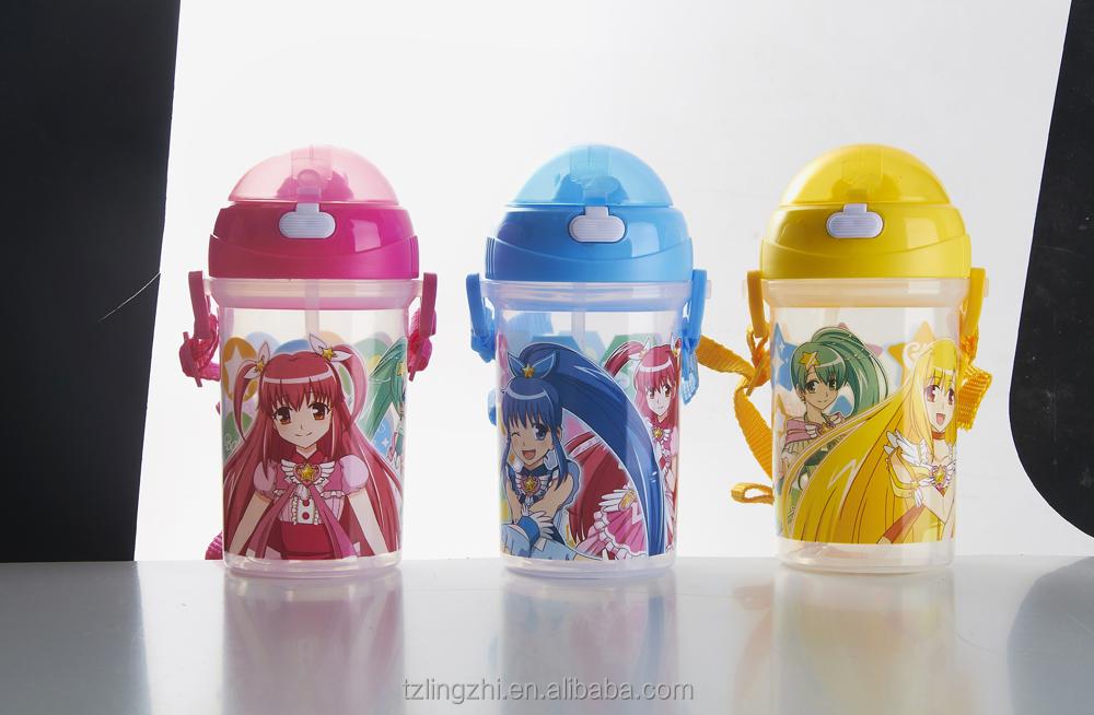Cartoon Plastic Water Bottle Plastic Water Bottle Bharara Small Magic Fairy Cartoon Kettle Canteen