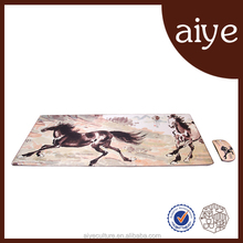2015 Best-selling Aiye silk simple mouse+mouse pad set
