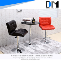 bar stool footrest covers leather sofa/living room louis chair