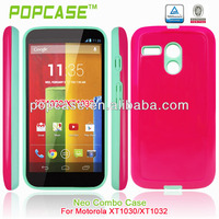 pc tpu cell phone case for moto g finely processed