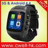 MTK6572 Dual Core Smart X01 Android Watch Phone WCDMA 3G WIFI GPS Heart Rate Monitor and Predometer