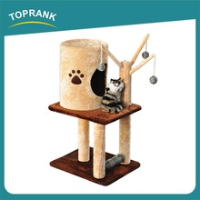 Factory Wholesale Best Selling Top Quality Most Popular cat furniture cat tree