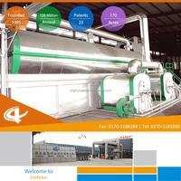 Advanced Continuous scrap / waste tire / plastic recycling machine