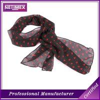 Custom Design Digital Printing Fashion Knitted Scarf,100% silk scarf,Long scarf