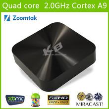 Amlogic S802 Quad core 2G SDRAM 8G Flash 4K 2.4G&5G wifi Android Set Top Box