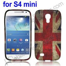British Flag Retro Protective Back Cover Soft TPU Case for Samsung Galaxy S4 Mini