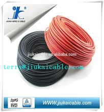 tuv approved 6.0mm2 dc solar cable solar energy panels