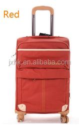 waterproof travel luggage superlight softside trolley luggage spinner wheeled luggage case bag