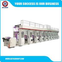High quality roto gravure printing machine,gravure printing machine price